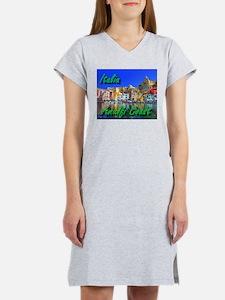 Beautiful Amalfi Coast Women's Nightshirt