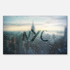 Rainy Day in NYC Decal