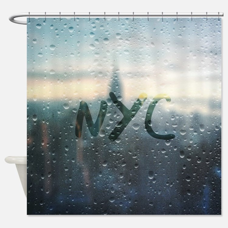 Cute Manhattan Shower Curtain