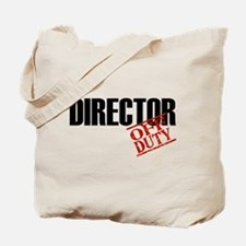 Off Duty Director Tote Bag