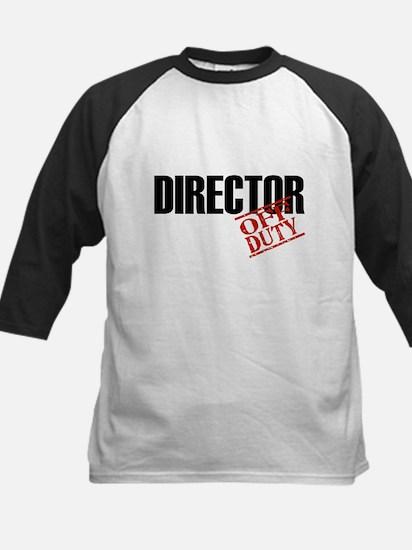 Off Duty Director Kids Baseball Jersey