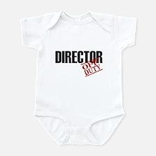Off Duty Director Infant Bodysuit