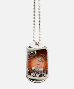 Steampunk in noble design Dog Tags