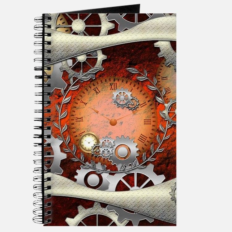 Steampunk in noble design Journal