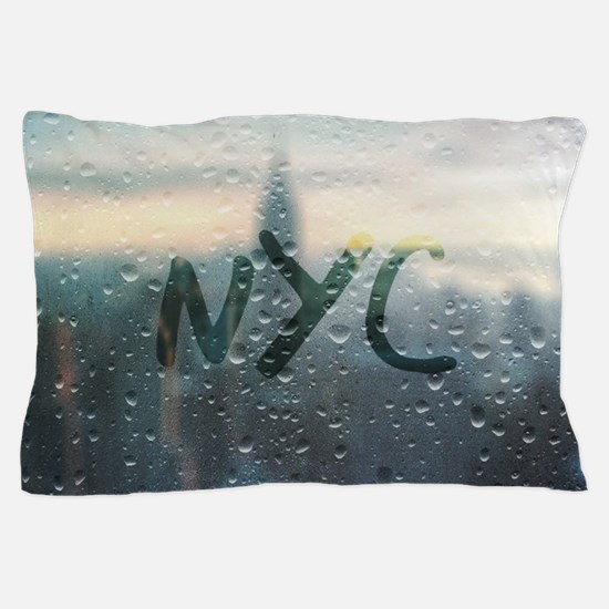 Rainy Day in NYC Pillow Case