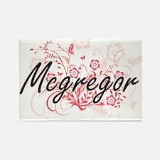 Mcgregor surname artistic design with Flow Magnets