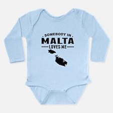 Somebody In Malta Loves Me Body Suit