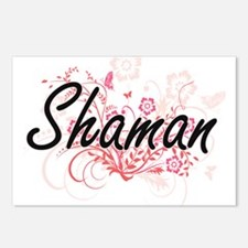 Shaman Artistic Job Desig Postcards (Package of 8)