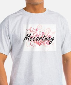 Mccartney surname artistic design with Flo T-Shirt