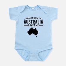 Somebody In Australia Loves Me Body Suit