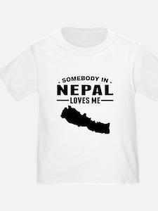 Somebody In Nepal Loves Me T-Shirt