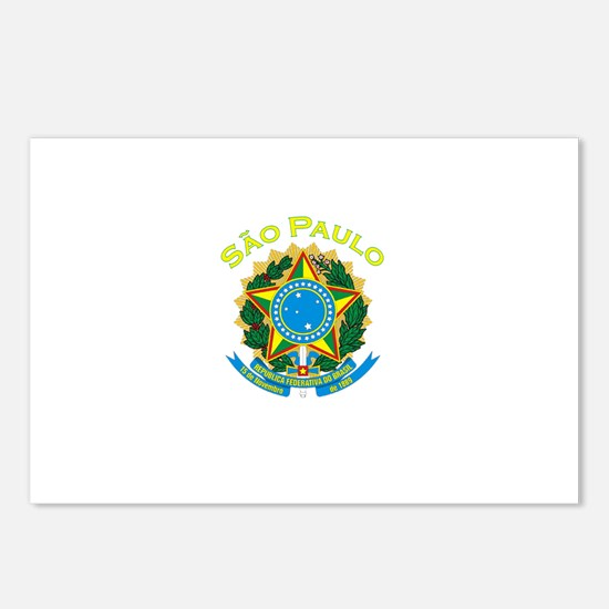 Sao Paulo, Brazil Postcards (Package of 8)