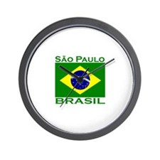 Sao Paulo, Brazil Wall Clock