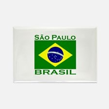 Sao Paulo, Brazil Rectangle Magnet