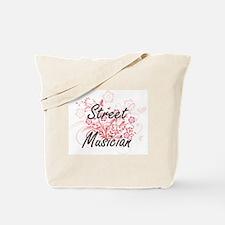 Street Musician Artistic Job Design with Tote Bag