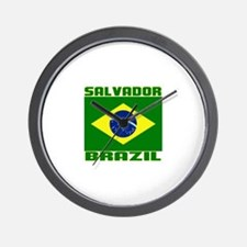 Salvador, Brazil Wall Clock