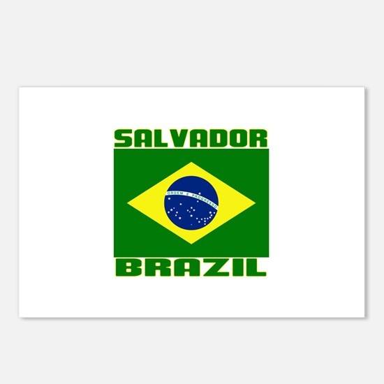 Salvador, Brazil Postcards (Package of 8)