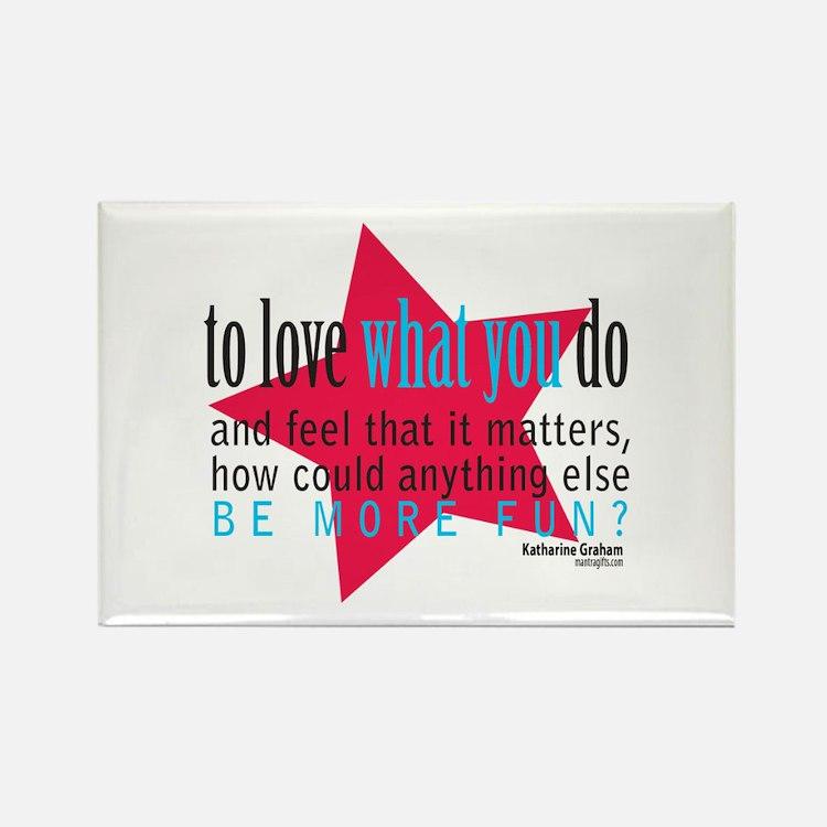 Cute Slogan Rectangle Magnet (10 pack)