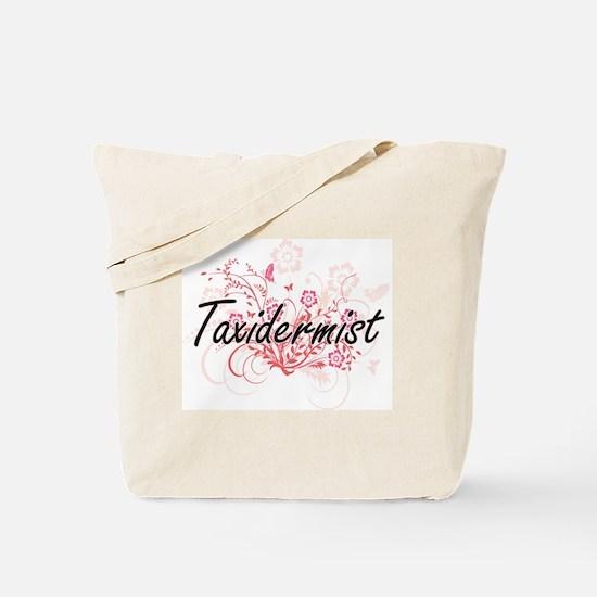 Taxidermist Artistic Job Design with Flow Tote Bag