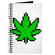 Weed Leaf Pixel Journal