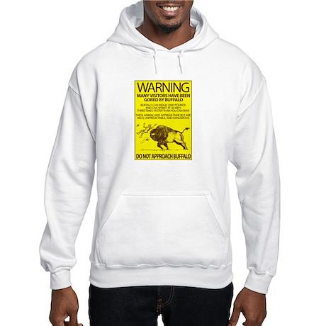Warning: Buffalo Hooded Sweatshirt