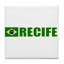 Recife, Brazil Tile Coaster