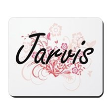 Jarvis surname artistic design with Flow Mousepad