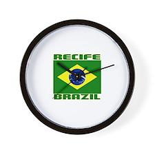 Recife, Brazil Wall Clock