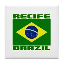 Recife, Brazil Tile Coaster