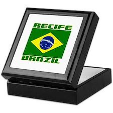 Recife, Brazil Keepsake Box
