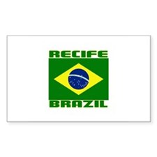 Recife, Brazil Rectangle Decal