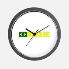Recife, Brazil Wall Clock