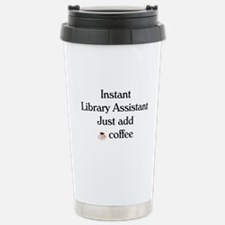 Cute Library Travel Mug