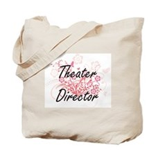 Theater Director Artistic Job Design with Tote Bag