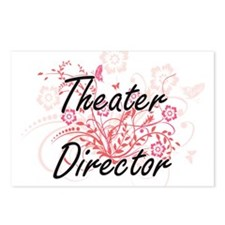 Theater Director Artistic Postcards (Package of 8)