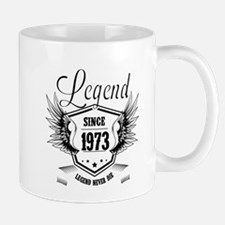 living legend since 1973 Mugs