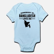 Somebody In Bangladesh Loves Me Body Suit