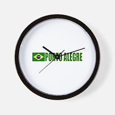 Porto Alegre, Brazil Wall Clock