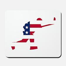 Slap Shot American Flag Mousepad