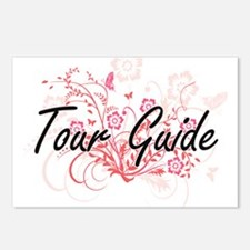 Tour Guide Artistic Job D Postcards (Package of 8)
