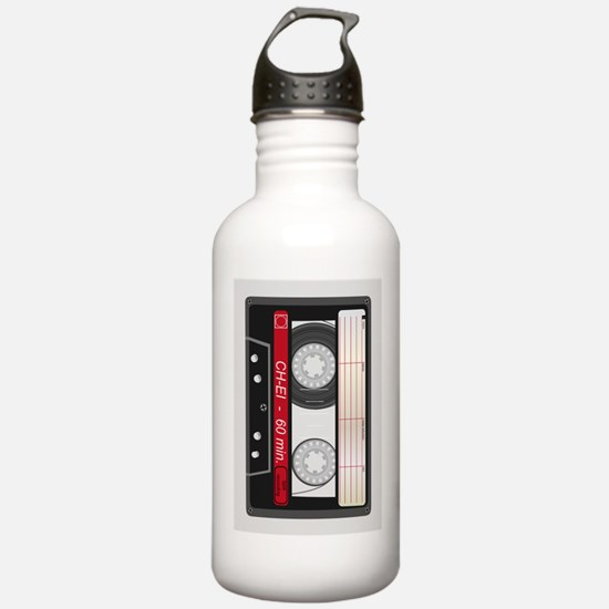 Audio Cassette Sports Water Bottle
