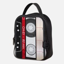 Audio Cassette Neoprene Lunch Bag