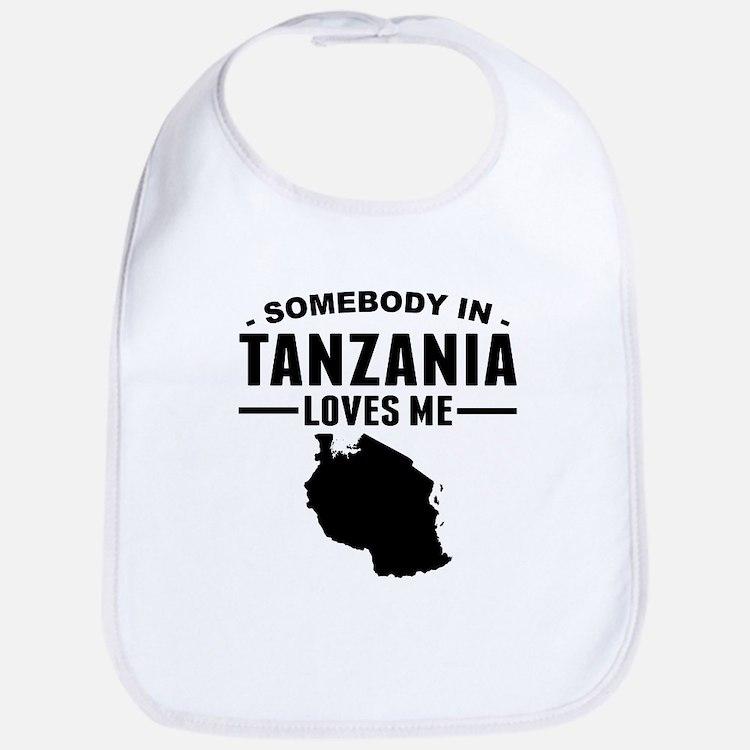 Somebody In Tanzania Loves Me Bib