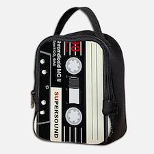 Audio Cassette Neoprene Lunch Bag