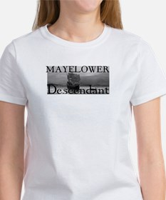 Mayflower Descendant Tee