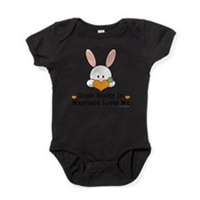 Funny Easter children Baby Bodysuit