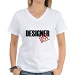 Off Duty Designer Women's V-Neck T-Shirt