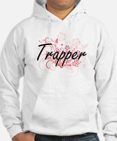 Trapper Artistic Job Design with Hoodie