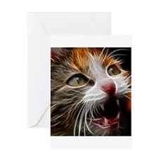 Cat011 Greeting Cards