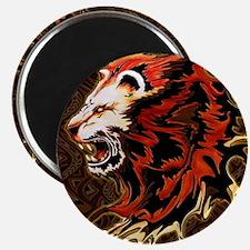 King Lion Roar Magnets